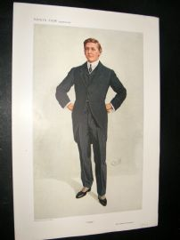 Vanity Fair Print 1910 Mr C.P Huntington, Legal